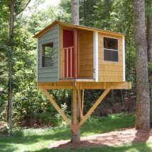 Diy Tree Houses 9 214x214 - 45+ DIY Tree House Ideas For Your Inspiration