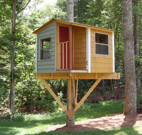 Diy Tree Houses 9 - 45+ DIY Tree House Ideas For Your Inspiration