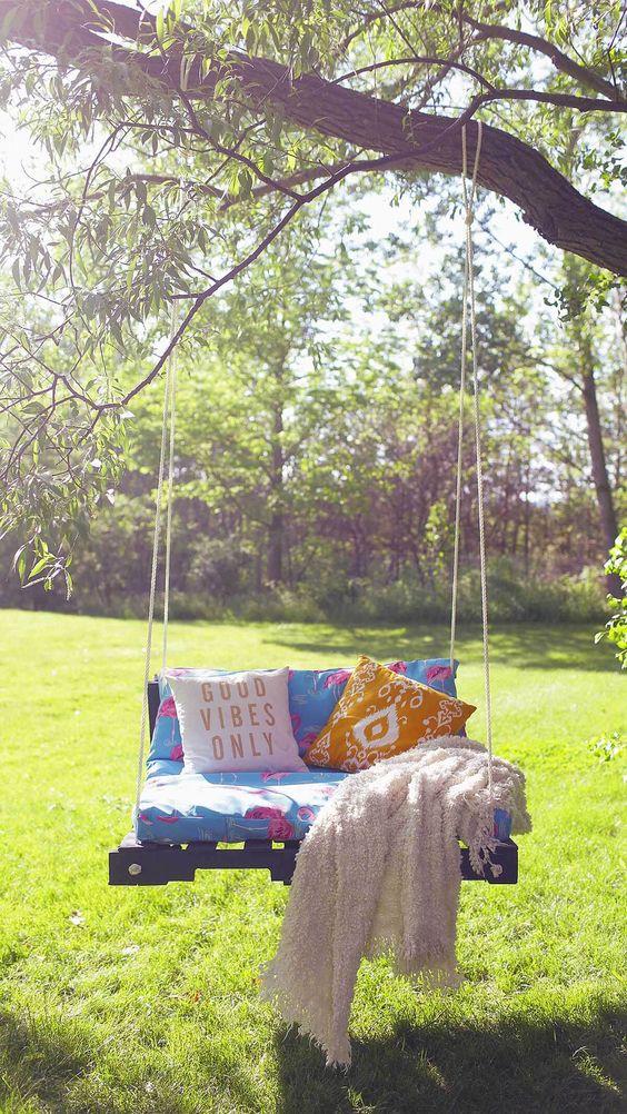Diy Tree Swings 14 - Awesome DIY Tree Swing Ideas To Try Now