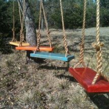 Diy Tree Swings 16 214x214 - Awesome DIY Tree Swing Ideas To Try Now
