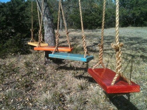 Diy Tree Swings 16 - Awesome DIY Tree Swing Ideas To Try Now