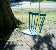 Diy Tree Swings 19 214x190 - Awesome DIY Tree Swing Ideas To Try Now