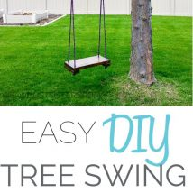 Diy Tree Swings 26 214x214 - Awesome DIY Tree Swing Ideas To Try Now
