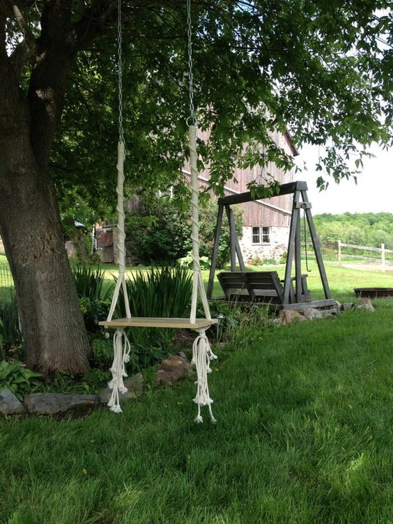Diy Tree Swings 27 - Awesome DIY Tree Swing Ideas To Try Now