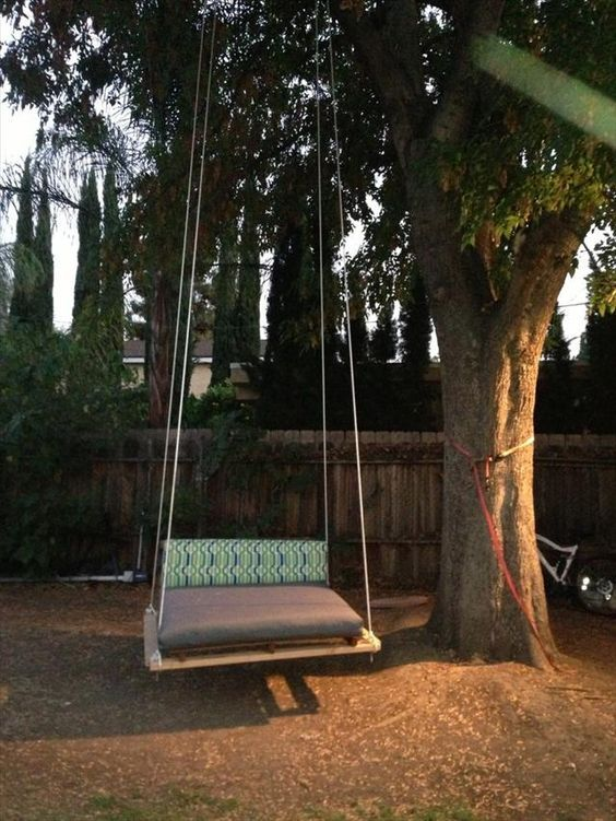 Diy Tree Swings 36 - Awesome DIY Tree Swing Ideas To Try Now