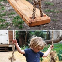Diy Tree Swings 38 214x214 - Awesome DIY Tree Swing Ideas To Try Now