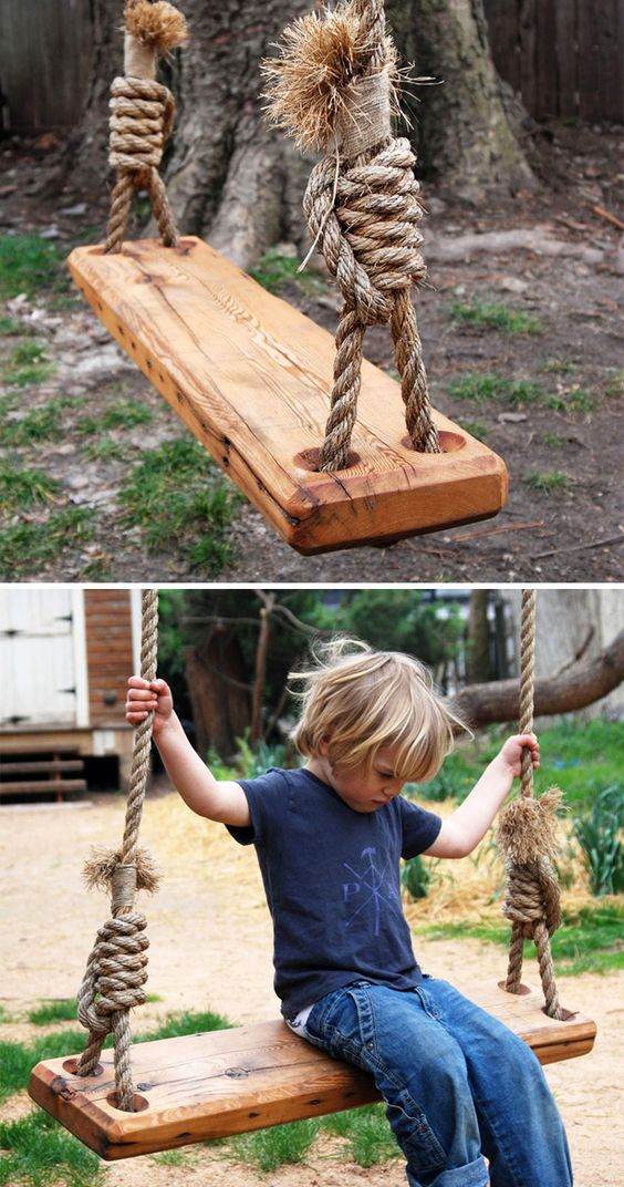 Diy Tree Swings 38 - Awesome DIY Tree Swing Ideas To Try Now