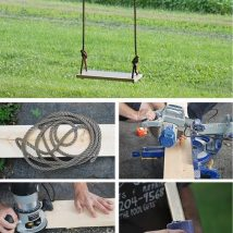 Diy Tree Swings 39 214x214 - Awesome DIY Tree Swing Ideas To Try Now