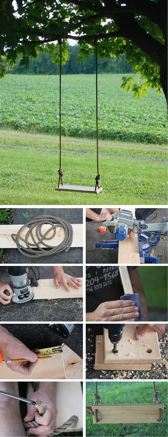 Diy Tree Swings 39 - Awesome DIY Tree Swing Ideas To Try Now