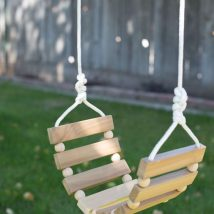 Diy Tree Swings 44 214x214 - Awesome DIY Tree Swing Ideas To Try Now