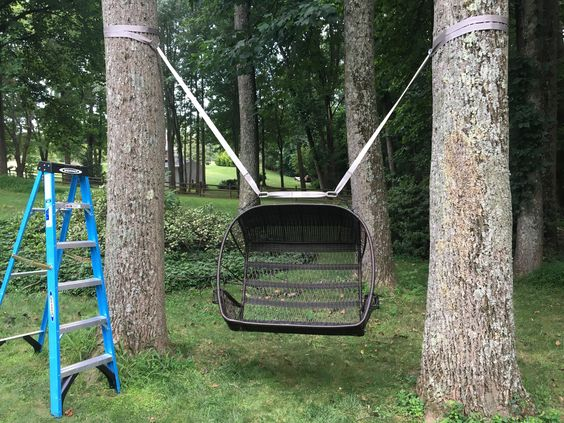 Diy Tree Swings 45 - Awesome DIY Tree Swing Ideas To Try Now