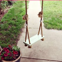 Diy Tree Swings 46 214x214 - Awesome DIY Tree Swing Ideas To Try Now
