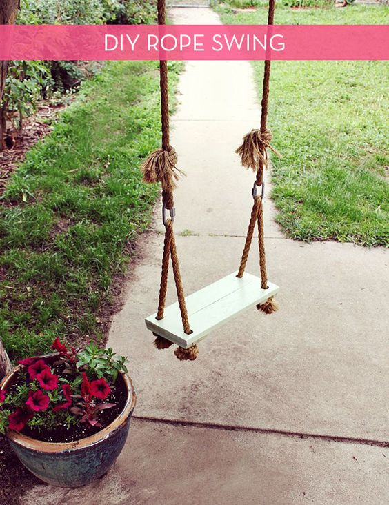 Diy Tree Swings 46 - Awesome DIY Tree Swing Ideas To Try Now