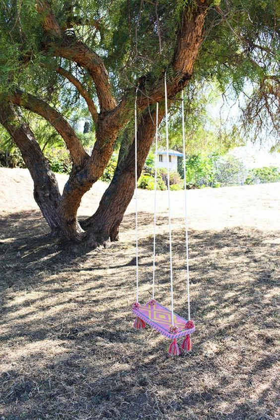 Diy Tree Swings 6 - Awesome DIY Tree Swing Ideas To Try Now
