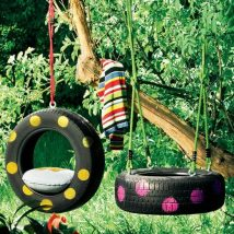 Diy Tree Swings 8 214x214 - Awesome DIY Tree Swing Ideas To Try Now