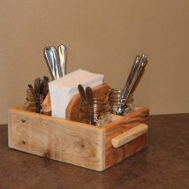 Diy Utensil Holder Projects 10 214x214 - Miraculous DIY Utensil Holder Projects Ideas
