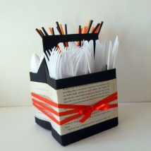 Diy Utensil Holder Projects 11 214x214 - Miraculous DIY Utensil Holder Projects Ideas