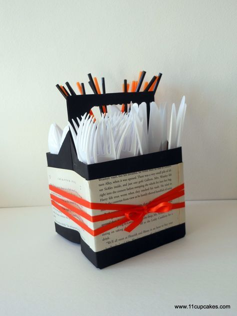 Diy Utensil Holder Projects 11 - Miraculous DIY Utensil Holder Projects Ideas