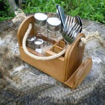 Diy Utensil Holder Projects 13 214x214 - Miraculous DIY Utensil Holder Projects Ideas