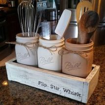 Diy Utensil Holder Projects 15 214x214 - Miraculous DIY Utensil Holder Projects Ideas