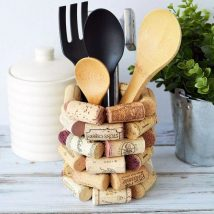 Diy Utensil Holder Projects 17 214x214 - Miraculous DIY Utensil Holder Projects Ideas