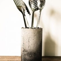 Diy Utensil Holder Projects 19 214x214 - Miraculous DIY Utensil Holder Projects Ideas