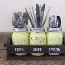 Diy Utensil Holder Projects 2 214x214 - Miraculous DIY Utensil Holder Projects Ideas
