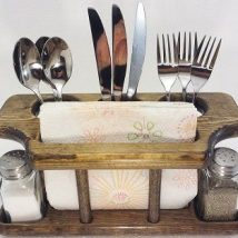 Diy Utensil Holder Projects 23 214x214 - Miraculous DIY Utensil Holder Projects Ideas