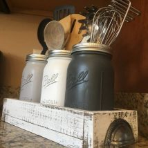Diy Utensil Holder Projects 25 214x214 - Miraculous DIY Utensil Holder Projects Ideas