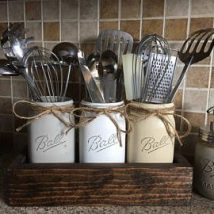 Diy Utensil Holder Projects 27 214x214 - Miraculous DIY Utensil Holder Projects Ideas