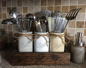 Diy Utensil Holder Projects 27 - Miraculous DIY Utensil Holder Projects Ideas