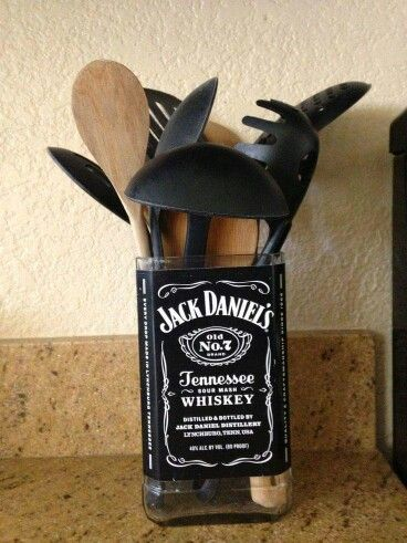 Diy Utensil Holder Projects 41 - Miraculous DIY Utensil Holder Projects Ideas