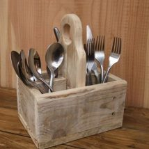 Diy Utensil Holder Projects 45 214x214 - Miraculous DIY Utensil Holder Projects Ideas