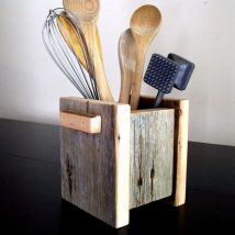 Diy Utensil Holder Projects 5 214x214 - Miraculous DIY Utensil Holder Projects Ideas