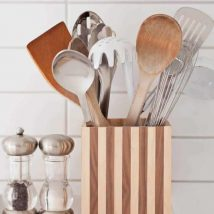 Diy Utensil Holder Projects 8 214x214 - Miraculous DIY Utensil Holder Projects Ideas