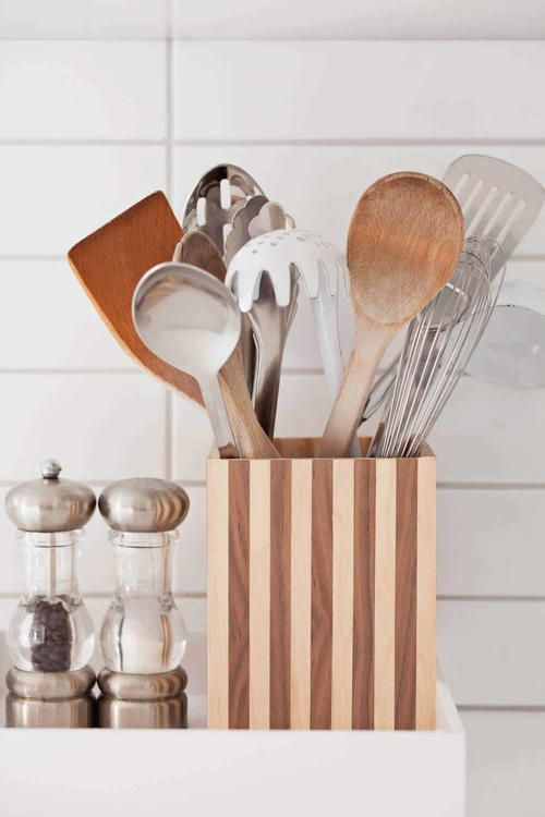 Diy Utensil Holder Projects 8 - Miraculous DIY Utensil Holder Projects Ideas