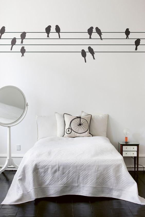 Diy Wall Decals 1 - Breathtaking DIY Wall Decals Ideas
