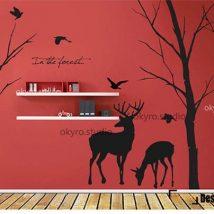 Diy Wall Decals 24 214x214 - Breathtaking DIY Wall Decals Ideas