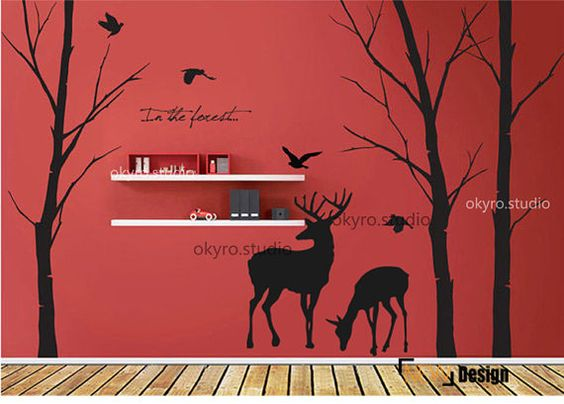 Diy Wall Decals 24 - Breathtaking DIY Wall Decals Ideas