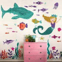 Diy Wall Decals 9 214x214 - Breathtaking DIY Wall Decals Ideas