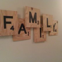 Miraculous DIY Wall Words Ideas