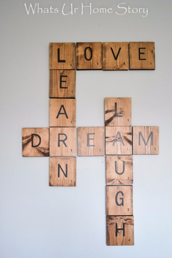 Diy Wall Words 35 - Miraculous DIY Wall Words Ideas