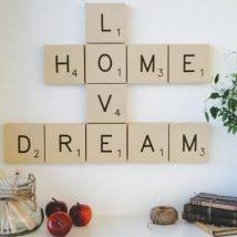 Diy Wall Words 42 214x214 - Miraculous DIY Wall Words Ideas