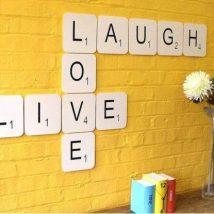Diy Wall Words 44 214x214 - Miraculous DIY Wall Words Ideas