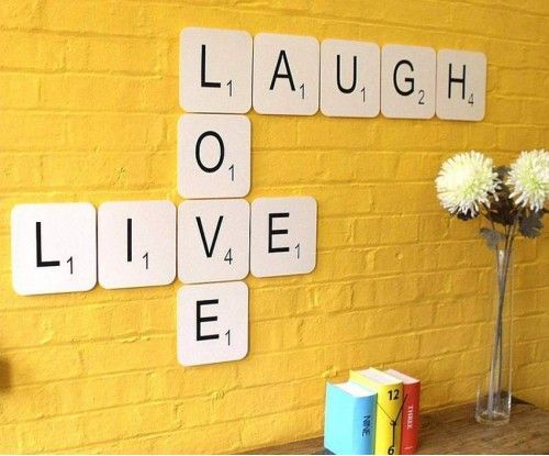 Diy Wall Words 44 - Miraculous DIY Wall Words Ideas