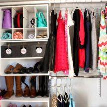 Diy Wardrobe Organizers 21 214x214 - Fabulous DIY Wardrobe Organizers Ideas