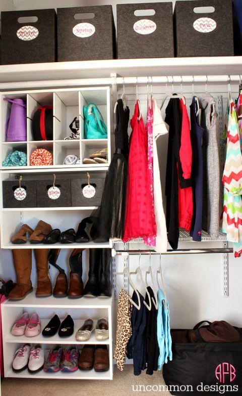 Diy Wardrobe Organizers 21 - Fabulous DIY Wardrobe Organizers Ideas