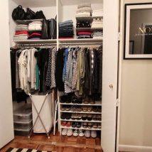 Diy Wardrobe Organizers 26 214x214 - Fabulous DIY Wardrobe Organizers Ideas