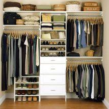 Diy Wardrobe Organizers 27 214x214 - Fabulous DIY Wardrobe Organizers Ideas
