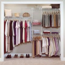 Diy Wardrobe Organizers 36 214x214 - Fabulous DIY Wardrobe Organizers Ideas